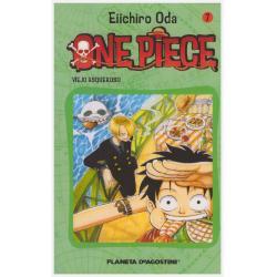 One Piece Tomo 7 Ed Planeta Deagostini Manga Nuevo - Jxr