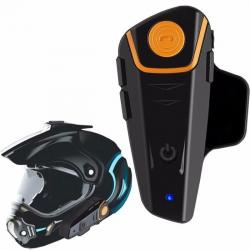 Intercomunicador Casco Moto Bluetooth Manos Libres +radio Fm