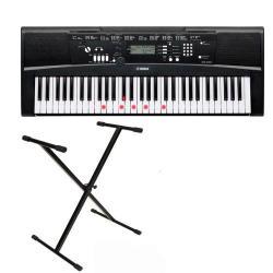 Teclado Mkorg 61 Teclas Con Pitch +pantalla Psr Piano Grande