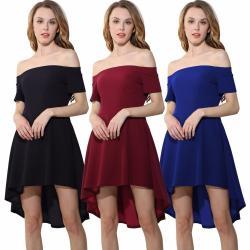 Si buscas Vestido Sexy Forever Elegante Asimetrico Moderno Casual 2019 puedes comprarlo con BOUTIQUE EUNICE LENCERIA está en venta al mejor precio