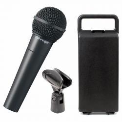 Microfono Vocal Behringer Xm8500 Estuche Abrazadera