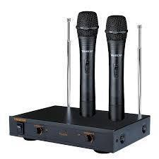 Microfono Inalambrico Doble De Mano Takstar Ts-6310h