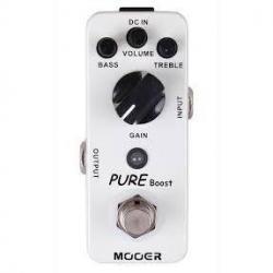 Mini Pedal Analogo Mooer Pure Booster Guitarra Electrica