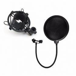 Filtro Anti Pop Y Suspension Para Microfonos Condensador