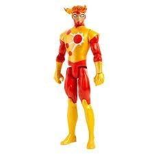 Firestorm Liga Justicia Dc Comics Titan Heroe Fjk09 Mattel