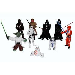 Star Wars Guerra De La Galaxia Bb-8 Muñecos Héroes 72-14