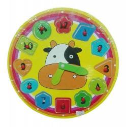 Si buscas Reloj Vaca Didáctico De Madera Sy-5144 puedes comprarlo con MCKTOYS está en venta al mejor precio