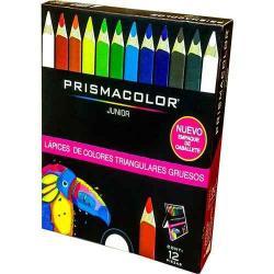 Si buscas Prismacolor Junior 12 Colores Triangular Jumbo 1972874 puedes comprarlo con MCKTOYS está en venta al mejor precio