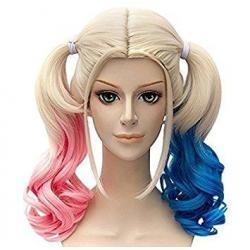 Si buscas Peluca Mujer Harley Quinn P-1859-h Halloween Disfraz Queen puedes comprarlo con MCKTOYS está en venta al mejor precio