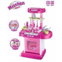 Si buscas Cocina Maletín Juguete Horno Luz Sonidos Princesa 008-58 puedes comprarlo con MCKTOYS está en venta al mejor precio