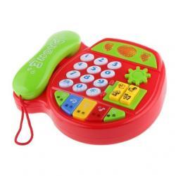 Teléfono Juguete Baby Phone Aprendizaje Musical Bebes 5029