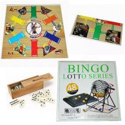 Si buscas Juego Parqués Doblar Doble Cara+dominó+bingo Juegos 3 En 1 puedes comprarlo con MCKTOYS está en venta al mejor precio