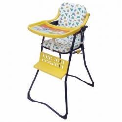 Silla Comedor Plegable Para Bebé Niño Calidad Amarillo-azul