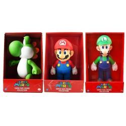 Figura Yoshi Luigi Mario 20cm Coleccionable Nintendo Muñeco