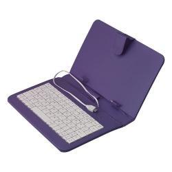 Si buscas Necnon Funda Teclado Tablet 9 Retrato Micro Usb Ck901 Morado puedes comprarlo con VENTRONIC está en venta al mejor precio