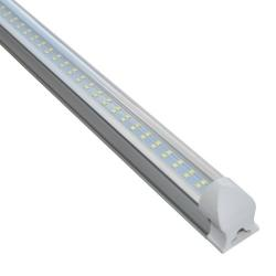 Si buscas 10 Lamparas Doble Led Techo Tubo 24w Aluminio Accesorios /e puedes comprarlo con VENTRONIC está en venta al mejor precio