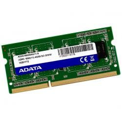 Si buscas Memoria Ddr3 4gb 1600mhz Adata Laptop Ad3s1600w4g11-s puedes comprarlo con GRUPODECME está en venta al mejor precio
