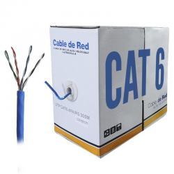 Bobina Cable De Red Utp 305m Cat 6 Rj45 Ethernet Antiagua