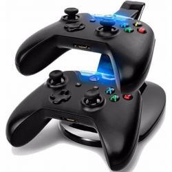 Promocion Kit Stand Base Recarga Cargador Controles Xbox One