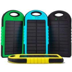 Bateria Recargable Cargador Solar Power Bank 5000mah