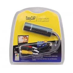 Easycap Tarjeta Capturadora Usb 2.0 Rca Audio Video A Pc