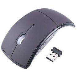 10 Mouse Optico Inalambrico Abatible Laptop Pc Mac Usb 2.0