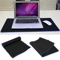 Si buscas Tapete Para Teclado Y Mouse Pad Gigante Negro Con Azul I1035 puedes comprarlo con GARUMI está en venta al mejor precio