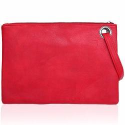 Si buscas Bolsa Roja De Mano Con Correa Para Mujer M2956 puedes comprarlo con GARUMI está en venta al mejor precio