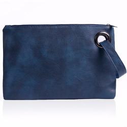 Si buscas Bolsa Azul De Mano Con Correa Para Mujer M2956 puedes comprarlo con GARUMI está en venta al mejor precio