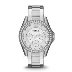 Reloj Fossil Riley Acero Inoxidable Es3202 Envio Gratis