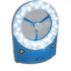 Linterna 32 Led Recargable Ventilador Portatil Emergencia
