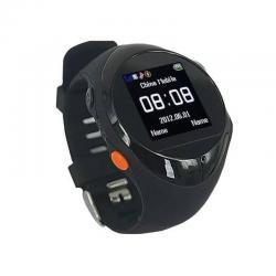 Reloj Watch Seguimiento Sensor Gps + Gsm Mp3 M Negro