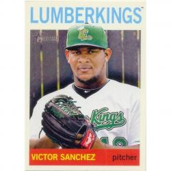 Barajita Victor Sanchez Pitcher Topps Minor 2013 # 9
