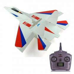 Avion Jet Rc Start Su-27 Luz Led Radio Control / Fernapet