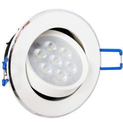 Foco Led Embutido 4.5w Direccional Luz Fria 23654/ Fernapet