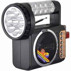 Radio Linterna Recargable Fm Usb Sd, M-u802 11831/ Fernapet
