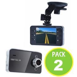 Pack 2 Cámara Auto 1080p Full Hd 2,4 Tft 64802 / Fernapet