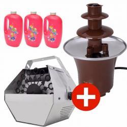 Si buscas Cascada De Chocolate + Maquina De Burbujas + 3 Litros puedes comprarlo con TEC-DEPOT está en venta al mejor precio