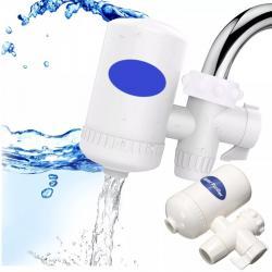 Pack 2 Purificador Agua Grifo Ceramicas Elimina Bacteria