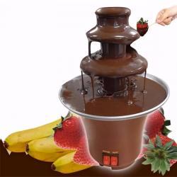 Cascada Chocolate 3 Pisos Fuente Fondue Quesos Pequeña