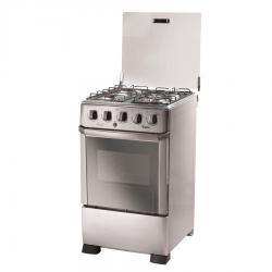 Cocina Tem Avanti Acero Inox 4h Super Gas Oferta Loi