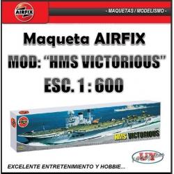 Maqueta Airfix Barco Buque Hms Victorious Hobbie Modelismo