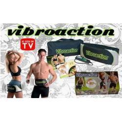 Faja Ejercitadora Eléctrica Vibroaction Nuevas Como En Tv !