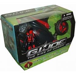 Vehículo Mantis Atack Craft Gi Joe Con Personaje Nuevo