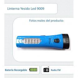 Si buscas Linterna Dual 6 Y 10 Led Recargable Con Radio Fm Futuroxxi puedes comprarlo con OPORTUNIDADESVIP está en venta al mejor precio