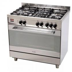 Cocina Combinada James Heavy Duty C90 5 Hornallas A Gas Dimm