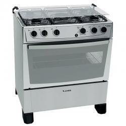 Cocinas James 5 Hornallas C150 Inox Encend Autolimp Dimm