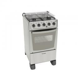 Cocinas A Gas James C105 B Inox Horno Autolimpiante Dimm