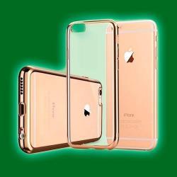 Si buscas Protector Tpu Borde Metalizado Iphone 7 Y 7 Plus puedes comprarlo con TUBELUXUY está en venta al mejor precio