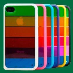Funda Iphone 5 5s 5se Rainbow Premium Protector Multicolor